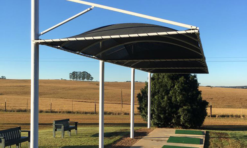 Shadeports Provide Up To 96 Shade And Full Hail Protection Awnmaster